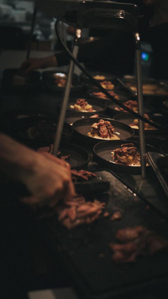 Abendessen Zubereitung